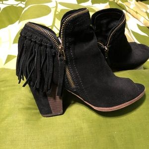 Ope toe Booties